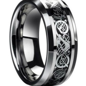 Black Viking Ring