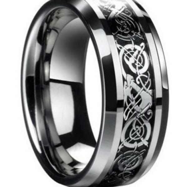 Black Viking Ring