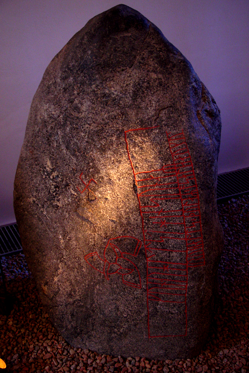 Runestone from Snoldelev