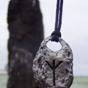 Algiz Rune Pendant Necklace