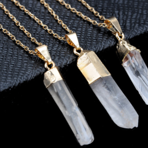 Quartz Gem Necklace