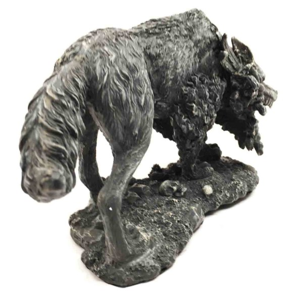 Fenrir Statue 3