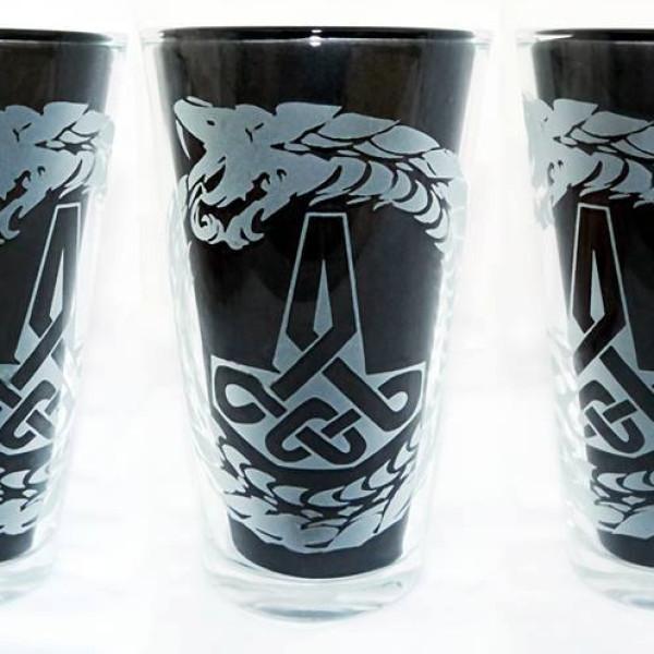Jormangandr and Mjolnir Glass