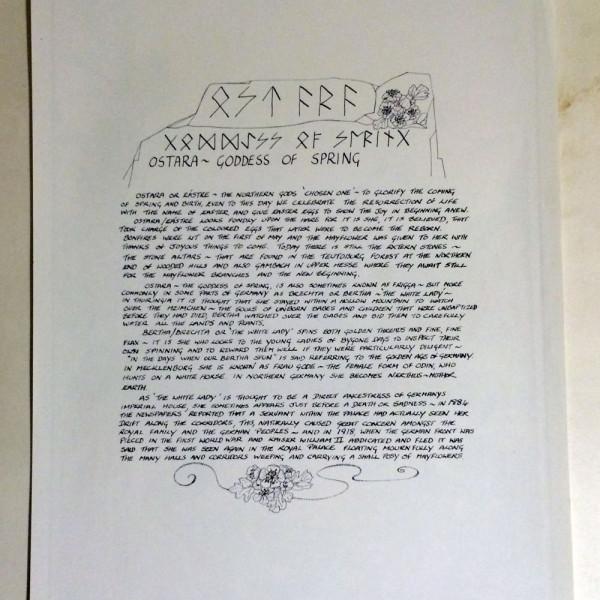 Ostara Poster 2