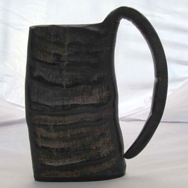 Ox Horn Viking Mug 2