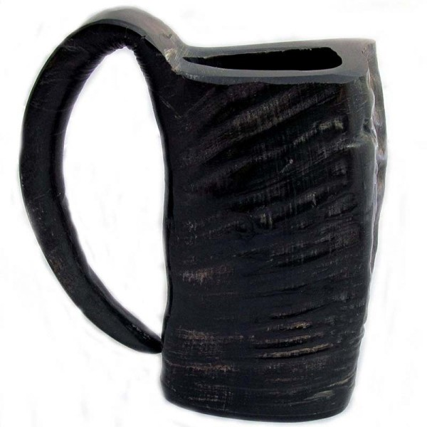 Ox Horn Viking Mug