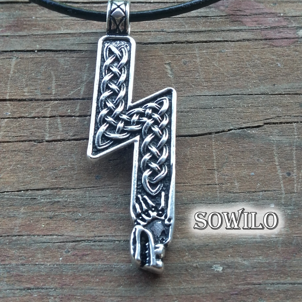 Sowilo Rune Necklace