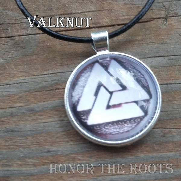 Valknut Necklace 2