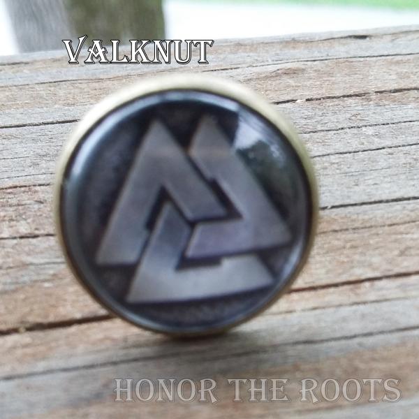 Valknut Ring for Vikings