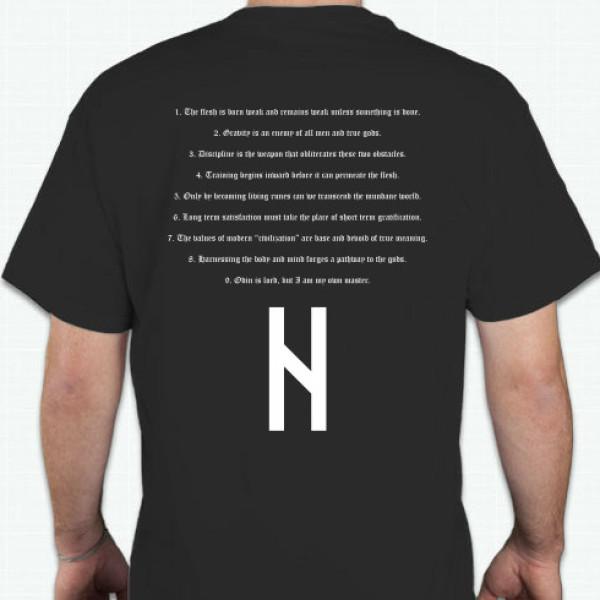 iron alchemy shirt back