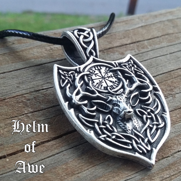 Stag Helm of Awe Necklace 2