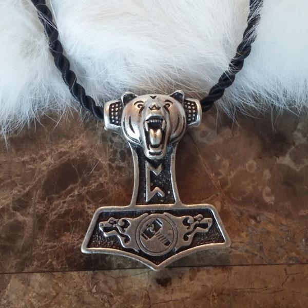 Pertho Mjolnir Necklace
