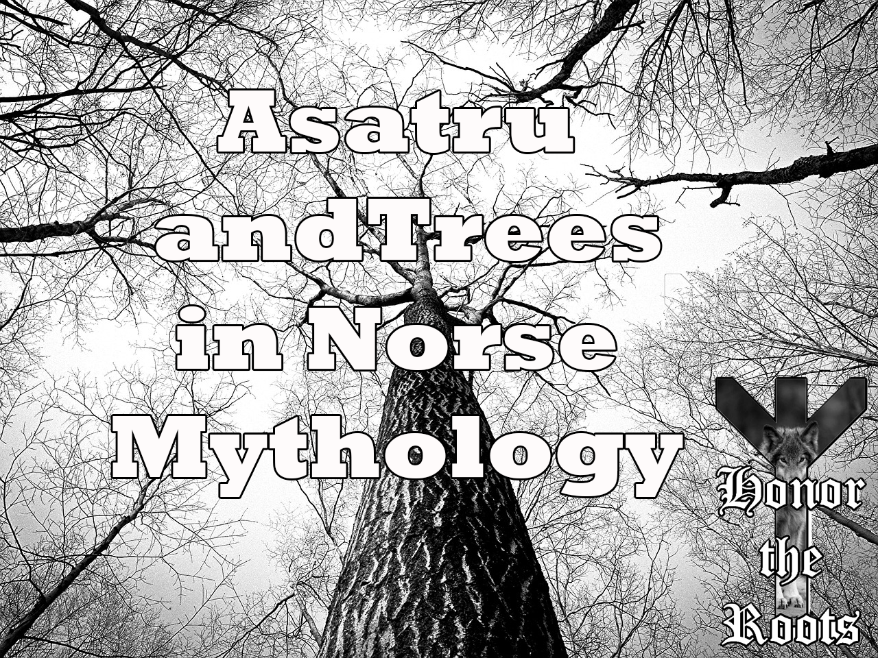 Asatru and Trees in Norse Mythology